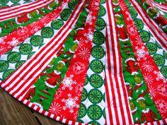 Grinch Christmas Tree Skirt - www.etsy.com/shop/loveelaine