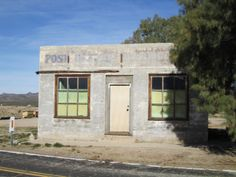 Kelso Post Office (California Travel) #ghosttowns