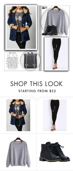 """""""Sheinside"""" by water-polo ❤ liked on Polyvore featuring mode, Sheinside, polyvoreeditorial en waterpolo"""