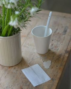 tea bags by SIMPLY FACTORY / Image LA MAISON DOUCE