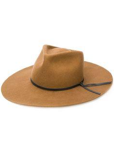 c80a6b2dfa1 Woolrich Trim Fedora Hat - Farfetch