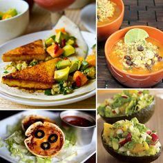 Healthy mexican food.. Plenty of Vegan and vegetarian recipes!