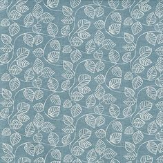 Caracus Denim  100% Cotton  Approx. 137cm | 32cm  Curtaining Stuart Graham, Painted Leaves, South Pacific, Modern Prints, Waterfall, Curtain Fabric, Cotton, Denim, Collection