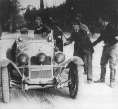 Mille Miglia 1931 - Alfa Romeo 6c 1750 #86  Campari/ Marinoni