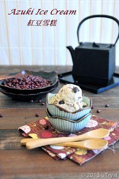 Azuki (Red Bean) Ice Cream (紅豆雪糕), one of my childhood favorites.
