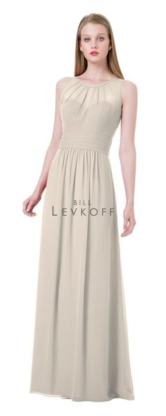 Bridesmaid dress in Champagne.