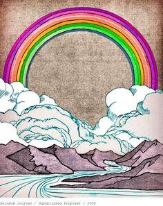 #rainbow #illustration