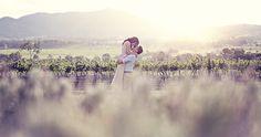 Loan and Kwa's Boonah Vineyard Engagement Photos