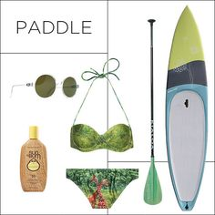 THE GREAT OUTDOORS: SHOP CHIC FITNESS GEAR - Paddle