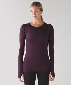 A long-sleeve layer designed  with running (and sweating) in  mind - To try in stores first