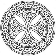 Celtic Cross Stained Glass Pattern Stained Glass Flower Coloring Pictures - Free Coloring Pages Daily Celtic Mandala, Celtic Art, Celtic Crosses, Celtic Dragon, Stained Glass Flowers, Stained Glass Patterns, Mandala Coloring Pages, Coloring Book Pages, Coloring Sheets