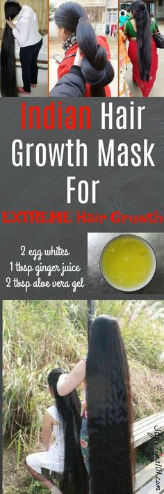 Diy hair growth hack Grow long healthy hair quick