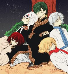Yona of the Dawn/ Akatsuki no Yona- the five dragons- big brother Jae-ha and his family