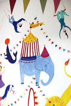 the art room plant: Birthday Wall