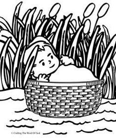 Moses Kids Craft Water Rock