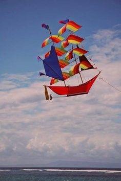 volant au vent