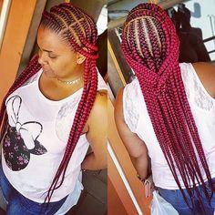 Braided Cornrow Hairstyles, Feed In Braids Hairstyles, Box Braids Hairstyles For Black Women, Braids Hairstyles Pictures, Black Girl Braids, Braids For Black Hair, Girls Braids, Trendy Hairstyles, Wedding Hairstyles