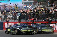 Team AMR Aston Martin V8 Vantage GTE Le Mans victory