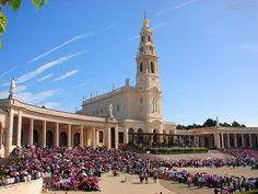 Fatima, Portugal must go with my kids