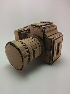 Cardboard Camera by HayashiMade on Etsy