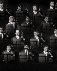Maurice Banquet ( Montage) 1957 |¤ Robert Doisneau
