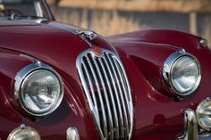 JAGUAR XK 140 DROPHEAD COUPE – Houtkamp Classic cars