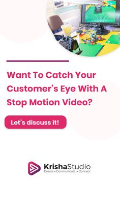 Want your customers to remember your brand? Want them to wait for your next advertisement? Want to reduce the bounce rate of your business website? There is one answer to all these questions. Stop motion animation videos can help you solve all these issues and we can help you with the creation process.  Get a free quote today: linktr.ee/KrishaStudio  #KrishaStudio #StopMotionAnimation #AnimationArt Motion Video, Stop Motion, Bounce Rate, Video Production, Free Quotes, Business Website, Animated Gif, Things That Bounce, Animation