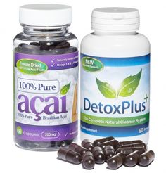 Many people are seeing great results when combing a pure Acai berry product with a colon cleanse detox product. Pure acai berry detox is in charge of your rapid body cleansing and fat burning.