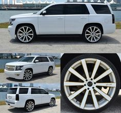 '14-15 Chevy Tahoe | Gianelle custom painted