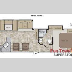 2012 Cougar Travel Trailer Floor Plans