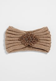 knit headwrap with s