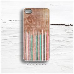 iPhone 5 Case Wood Print iPhone 5s Case Geometric by HelloNutcase, $22.00