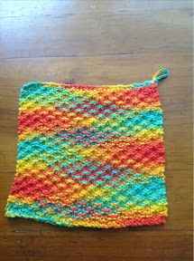 Dish Cloth – Knitting Pattern | Living with the Knit Guru