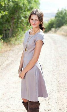Causal dress