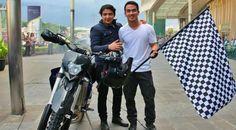 Hobi Motor Gede, Pasha Ungu Jadi Ikon Bogor Bike Week 2015