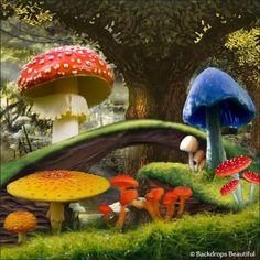 Backdrops: Alice in Wonderland 1B