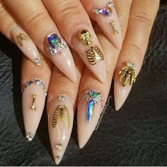 167 Best Nail Charms / Nail Design images in 2019 | Nail charms ...