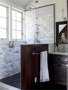 Transitional (Eclectic) Bathroom by Kathryn Scott