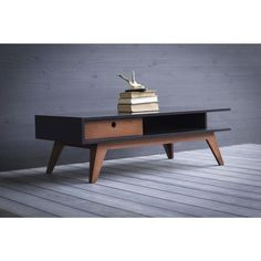 The Marc is a classic, modern coffee table. Rich color options to match your space. Coffee Table With Drawers, Solid Wood Coffee Table, Coffe Table, Modern Coffee Tables, Wood Furniture Living Room, Furniture Making, Office Furniture, Modern Desk, Mid-century Modern