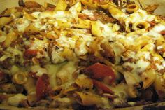 Pizza Casserole (freezer meal)