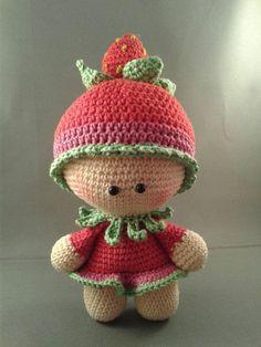 Irresistible Crochet a Doll Ideas. Radiant Crochet a Doll Ideas. Crochet Baby Toys, Crochet Doll Clothes, Knitted Dolls, Crochet Gifts, Crochet Dolls Free Patterns, Crochet Doll Pattern, Amigurumi Patterns, Doll Patterns, Crochet Pumpkin Pattern