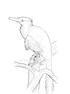Roosting Buitreraptor by Kana-hebi
