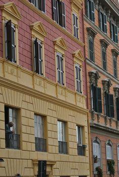Colore Rome, Multi Story Building, Rum, Rome Italy