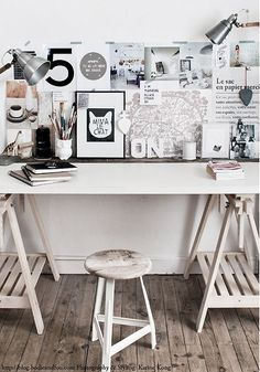 15 nice, bright offices | Pretty Paper Things