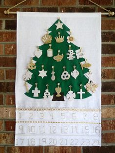 Chrismon Tree Advent Calendar