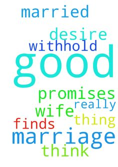 Marriage -  	I really desire to be married and God promises not to withhold a good thing and marriage is a good think so I pray God finds me a wife  Posted at: https://prayerrequest.com/t/9Xe #pray #prayer #request #prayerrequest