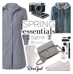 """""""ROSEGAL"""" by helenevlacho ❤ liked on Polyvore featuring Bobbi Brown Cosmetics, Fujifilm and rosegal"""