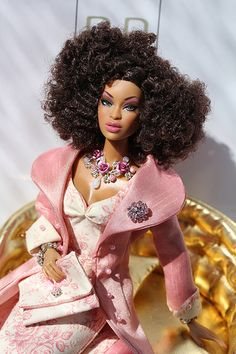 isn't this just beautiful!!!! Barbie