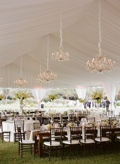 Photography: Marni Rothschild - marnipictures.com  Read More: http://www.stylemepretty.com/southeast-weddings/2014/04/04/a-tented-southern-classic/
