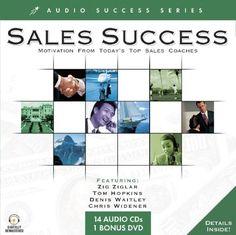 Sales Success: Motivation From Today's Top Sales Coaches (Audio Success) by Zig Ziglar.  http://www.amazon.com/dp/1591506166/ref=cm_sw_r_pi_dp_vvfIsb110B1WRYRD